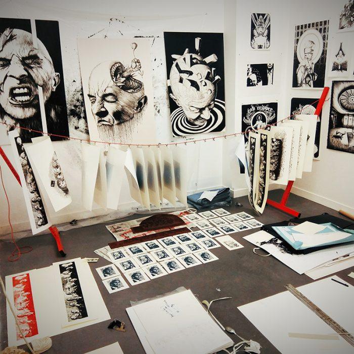 Exposition Régis Gonzalez «Fin de résidence»