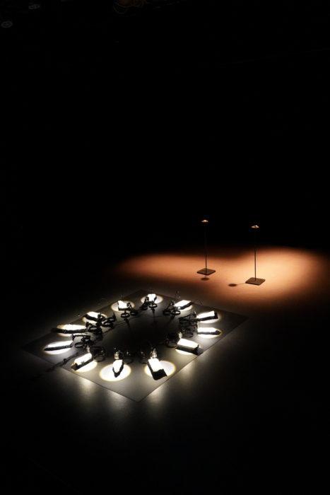 Installations art numérique «Pyéra» et «Koro» Damien Traversaz